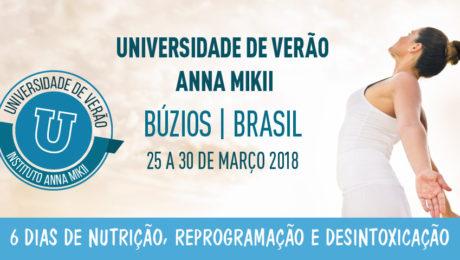 Universidade de Verão Anna Mikii 2018